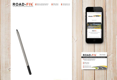 Road Fix - Stationary, Letterheads, Business Cards