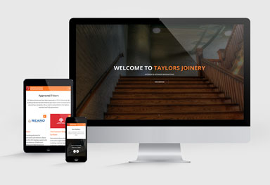 Taylors Joinery - Website Design