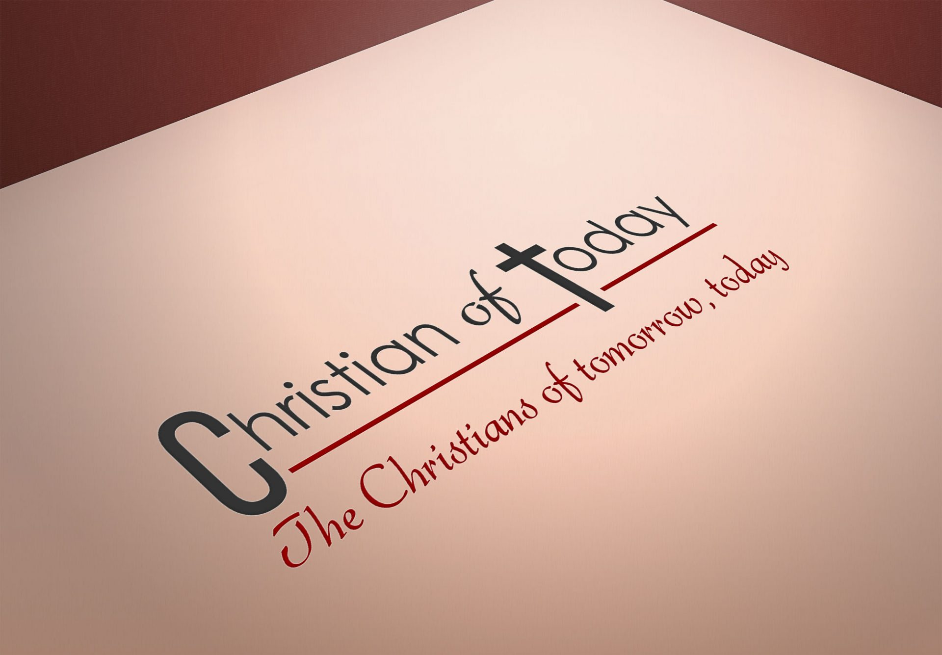 Logo design for Christian of Today