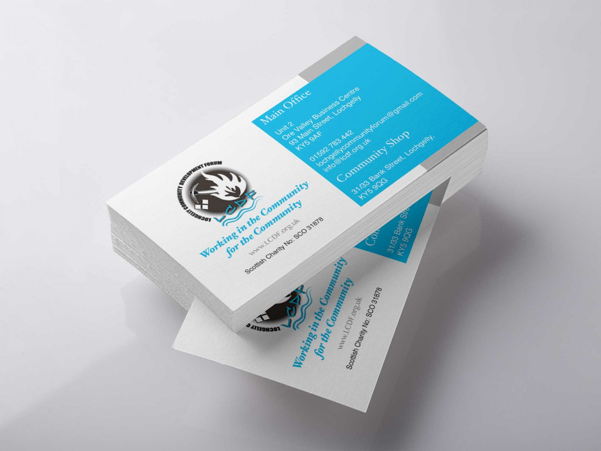 Design Fife - LCDF Business Card