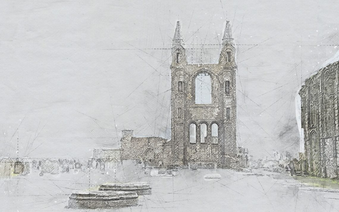 St Andrews - sketch