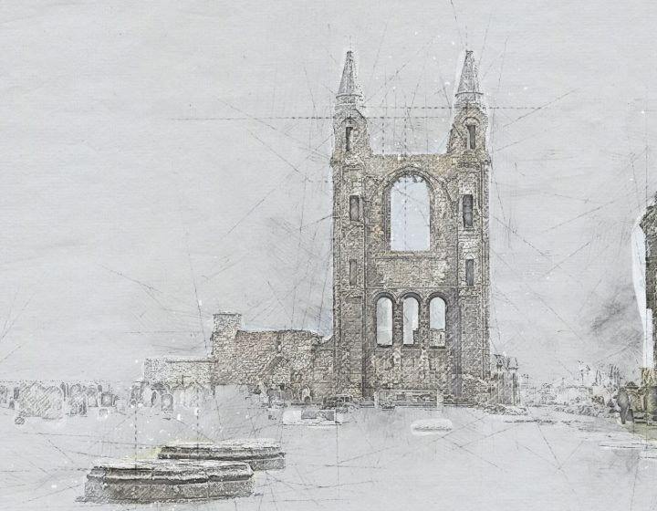 St Andrews - sketch