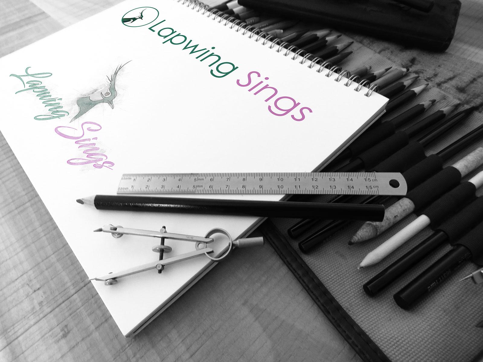 Lapwing Sings - Logo