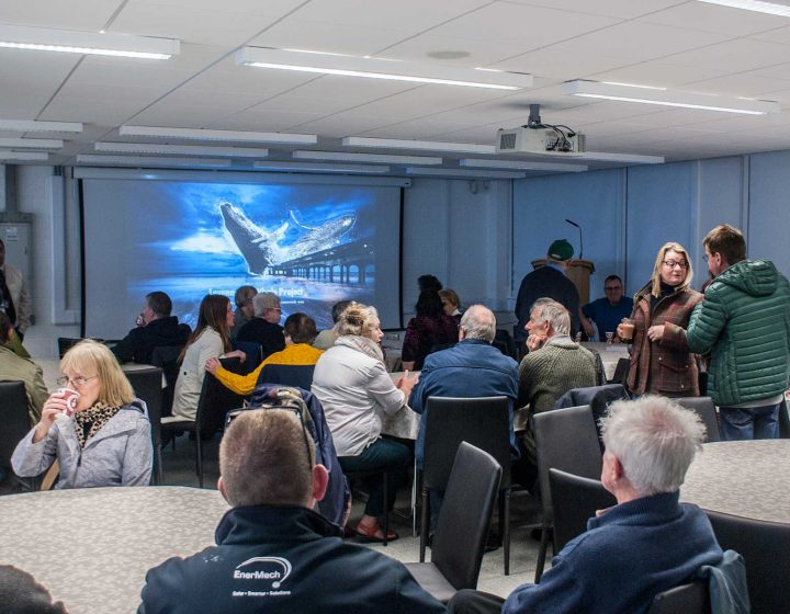 Levenmouth Whale Project - Public Presentation