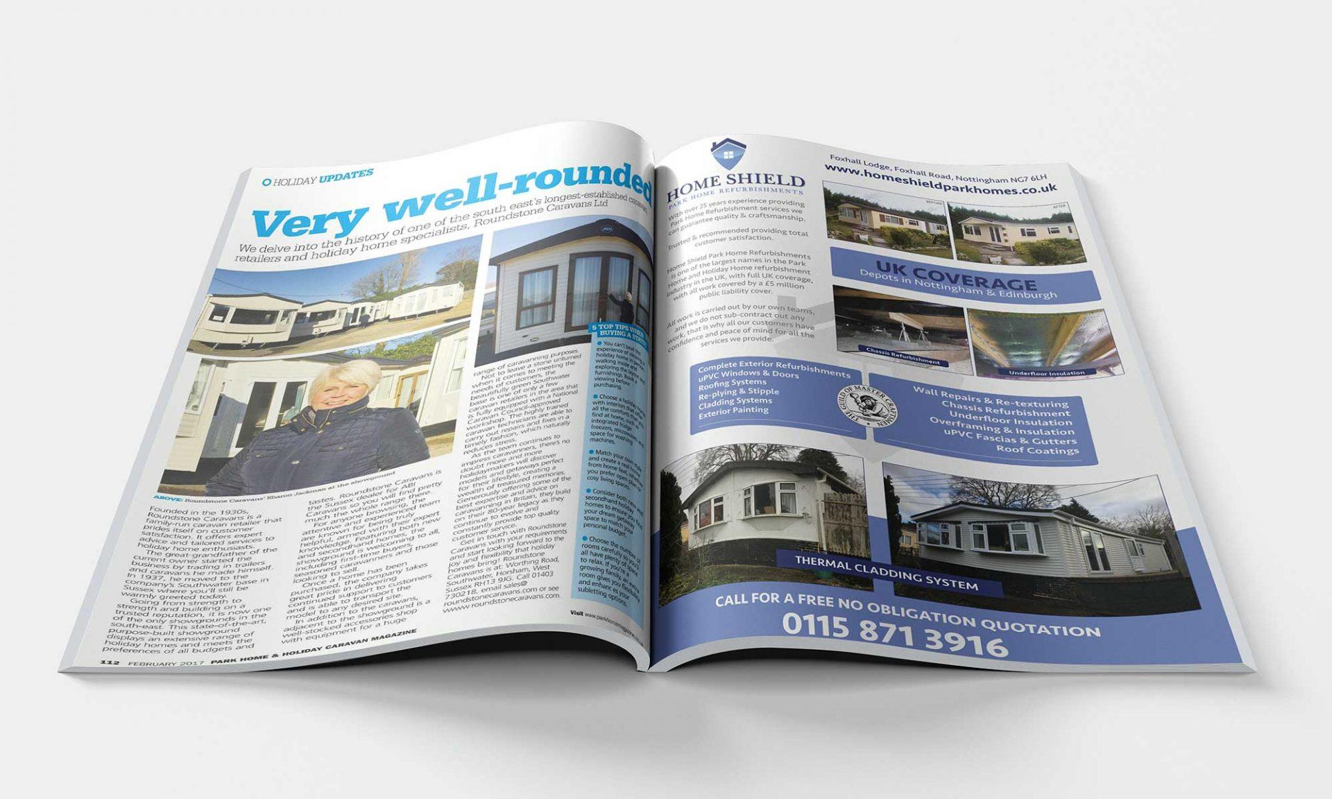 Home Shield - A4 Advert