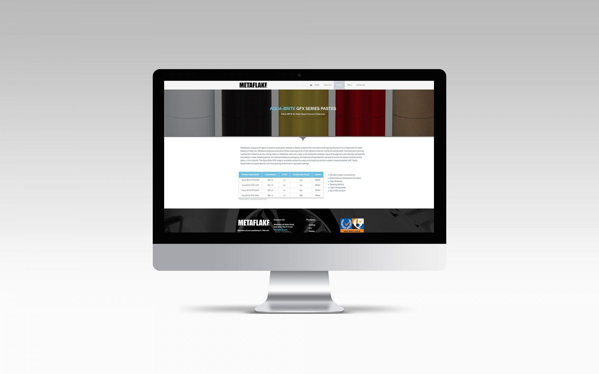 Metaflake - Website Design