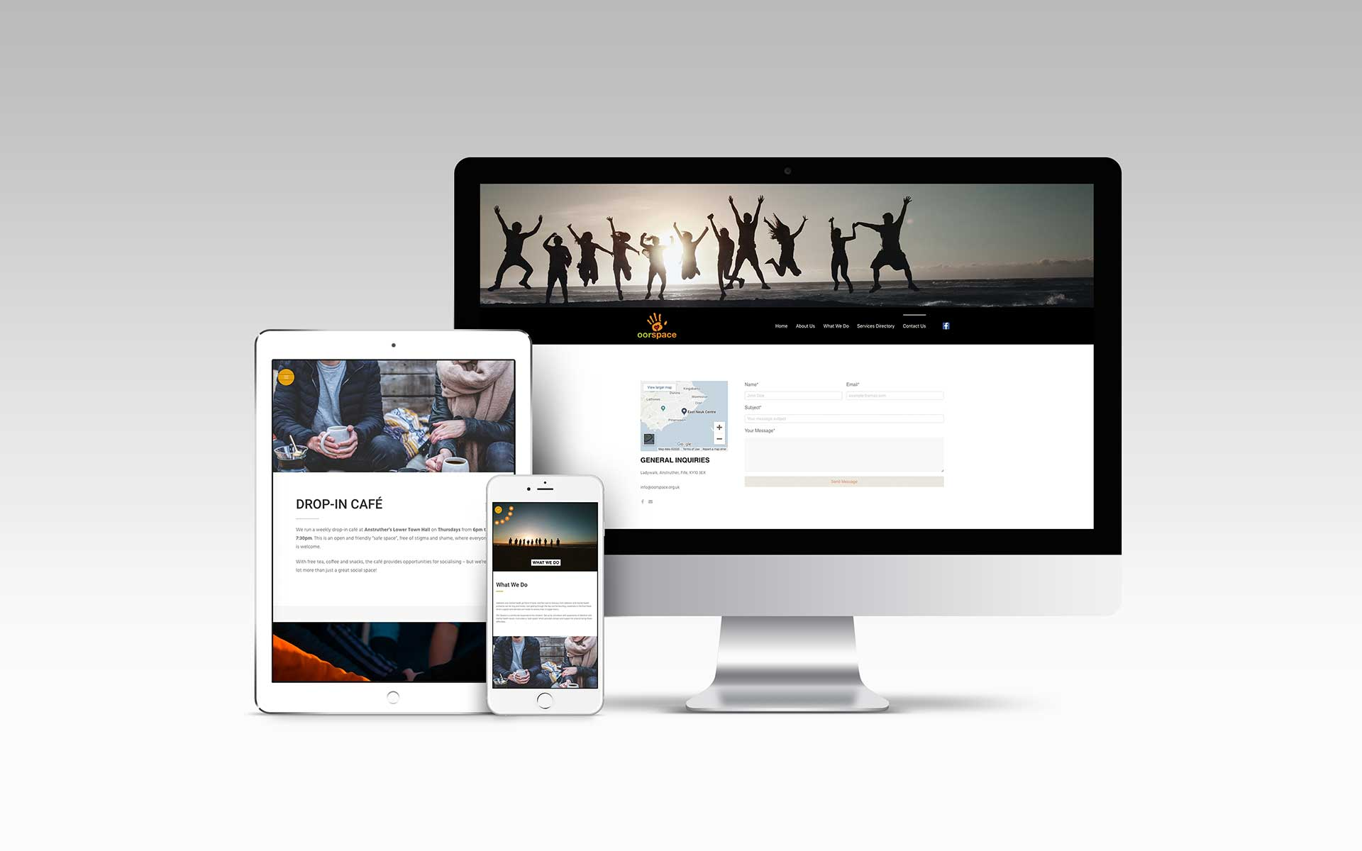 Oor Space - Web Design