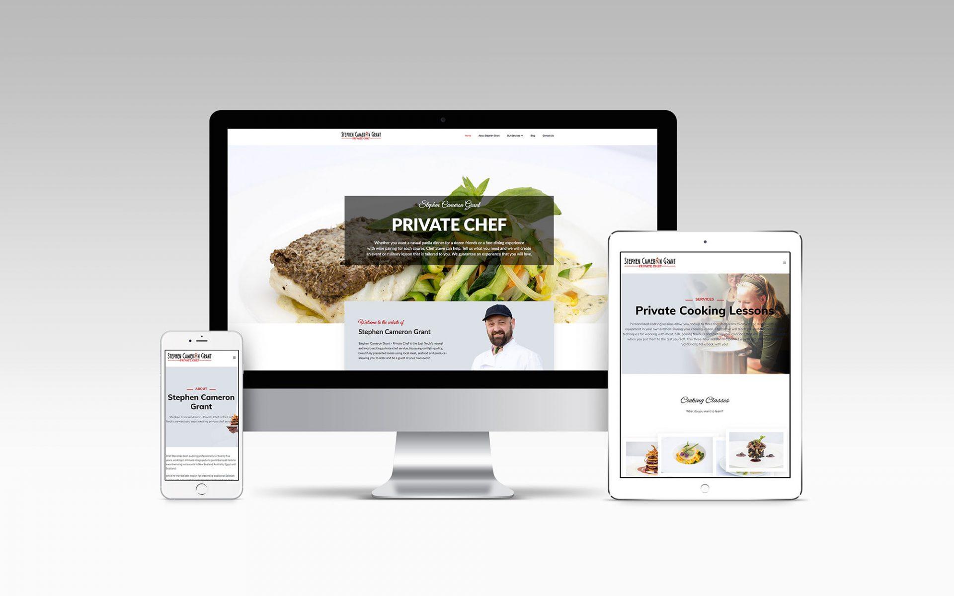 Stephen Cameron Grant - Website Design