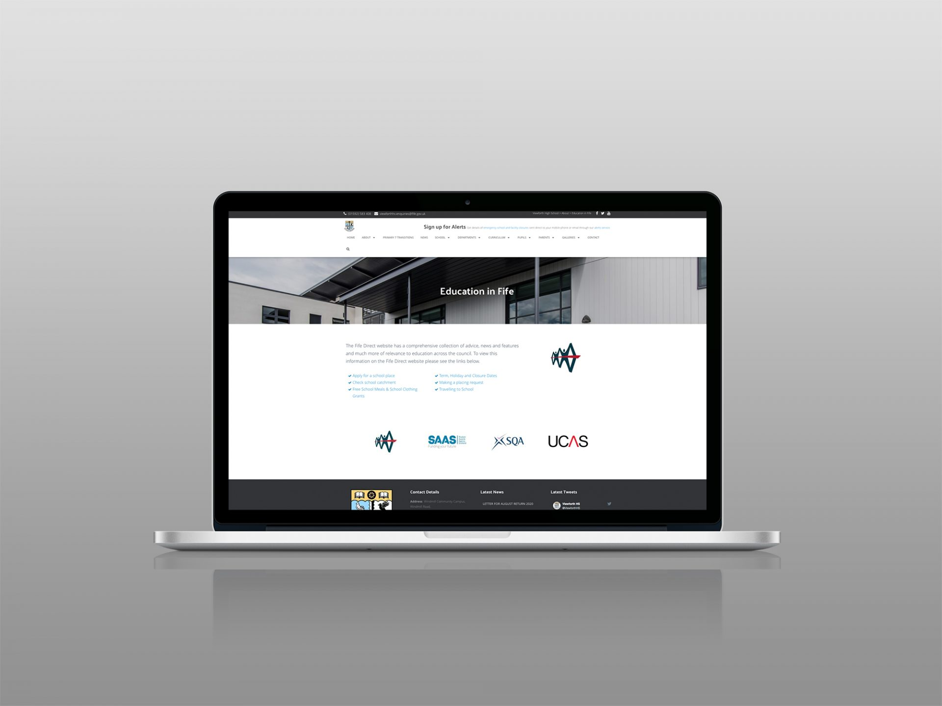 Viewforth High School - Website Design