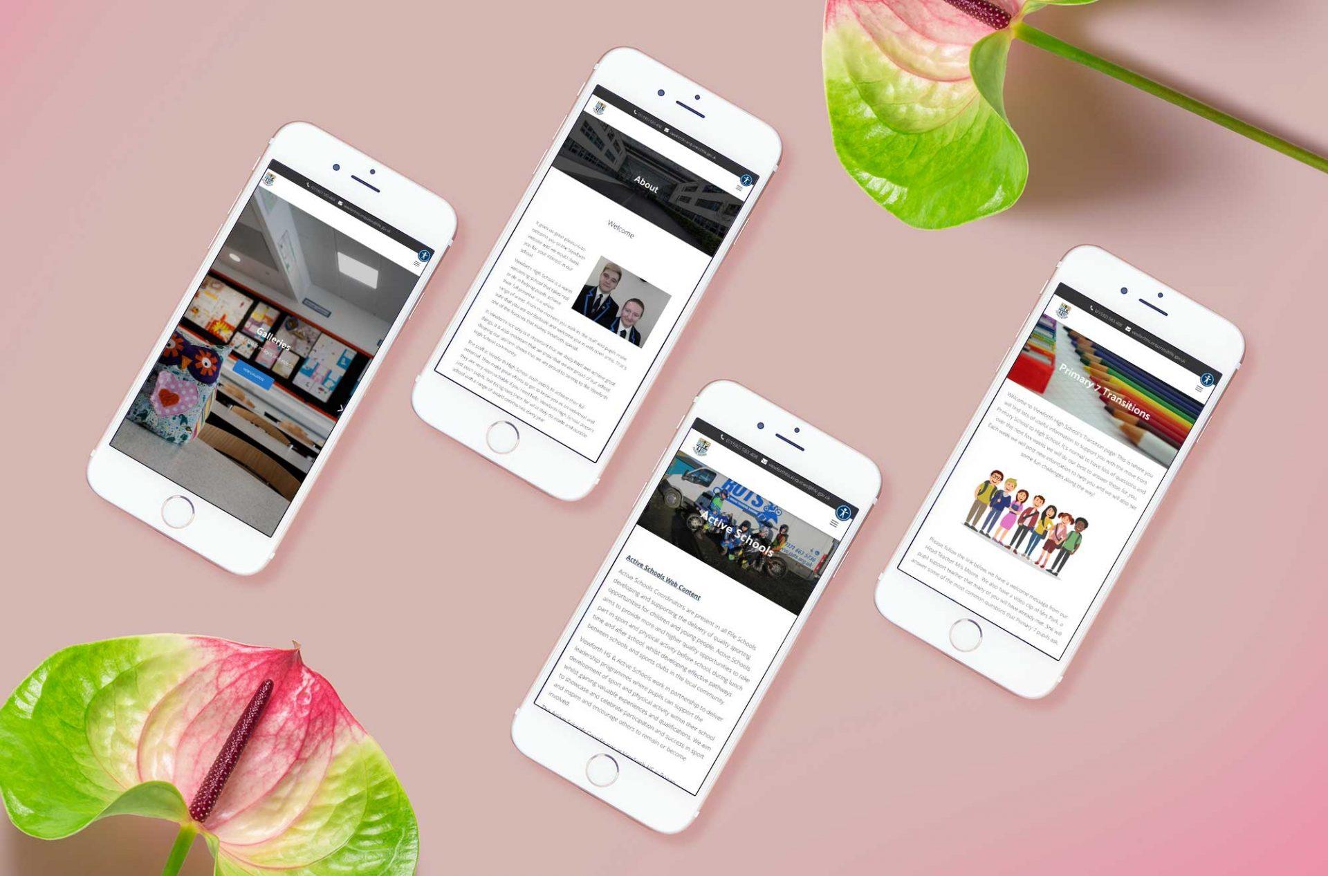 Viewforth High School - Website Design